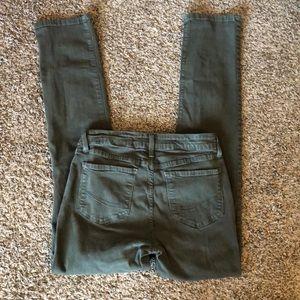 NYDJ Women's Slim Jeans - Dark Sage Green - Size 8